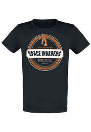 Space Invaders - Monster Invader - T-Shirt - Uomo - nero