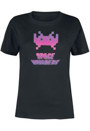 Space Invaders - Pink Invadeer - T-Shirt - Donna - nero