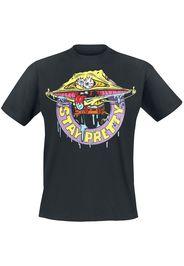 SpongeBob SquarePants - Stay Pretty - T-Shirt - Uomo - nero