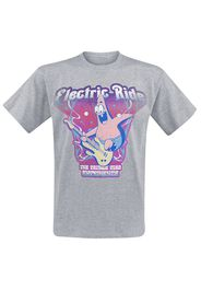SpongeBob SquarePants - Electric Ride - T-Shirt - Uomo - grigio sport