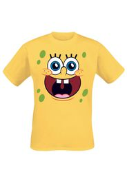 SpongeBob SquarePants - Happy Face - T-Shirt - Uomo - giallo
