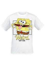 SpongeBob SquarePants - Weird - T-Shirt - Uomo - bianco