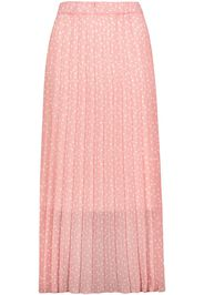 Sublevel - Ladie´s Plissee Skirt - Gonna lunga - Donna - rosa bianco