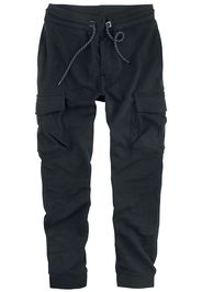 Sublevel - Men´s Sweat Pants Cargo - Pantaloni tuta - Uomo - nero