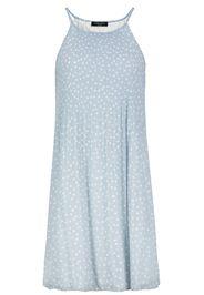 Sublevel - Plisseé Dress - Miniabito - Donna - azzurro bianco