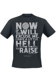 Supernatural - Hellraiser - T-Shirt - Uomo - nero
