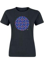 Svenja Hemke - Geometric Rearrangement 2 - T-Shirt - Donna - nero