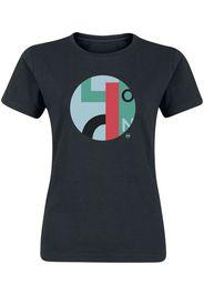 Svenja Hemke - Geometric Order - T-Shirt - Donna - nero