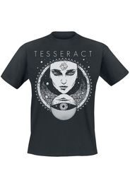 Tesseract - Face - T-Shirt - Uomo - nero