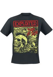 The Exploited - Punks Not Dead - T-Shirt - Uomo - nero