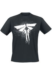 The Last Of Us - Firefly - T-Shirt - Uomo - nero