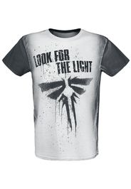 The Last Of Us - Firefly - Look For The Light - T-Shirt - Uomo - grigio