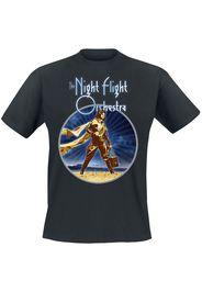 The Night Flight Orchestra - Aeromantic II - T-Shirt - Uomo - nero