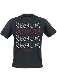 The Shining - Red Rum - T-Shirt - Uomo - nero
