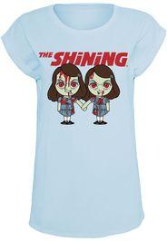 The Shining - Twins Chibis - T-Shirt - Donna - azzurro