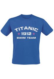 Titanic Swim Team -  - T-Shirt - Uomo - blu royal