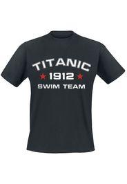 Titanic Swim Team -  - T-Shirt - Uomo - nero