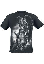 Toxic Angel - Valkyrie - T-Shirt - Uomo - nero