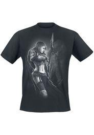 Toxic Angel - Spirit of Huntress - T-Shirt - Uomo - nero