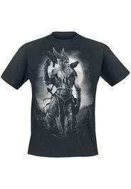 Toxic Angel - Odin - T-Shirt - Uomo - nero