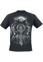 Toxic Angel - Guardian Of Midgard - T-Shirt - Uomo - nero