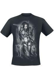 Toxic Angel - Freya - T-Shirt - Uomo - nero
