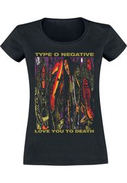 Type O Negative - Love You To Death - T-Shirt - Donna - nero