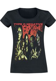 Type O Negative - Halloween - T-Shirt - Donna - nero