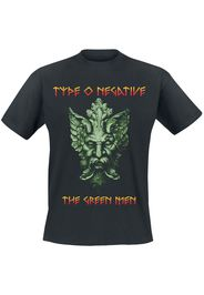 Type O Negative - Green Men - T-Shirt - Uomo - nero