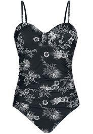 Vive Maria - Tropical Blossom Swimsuit - Costume da bagno - Donna - nero