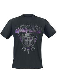 What If...? - TChalla Star Lord - T-Shirt - Uomo - nero