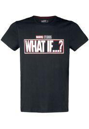What If...? - Logo - T-Shirt - Uomo - nero