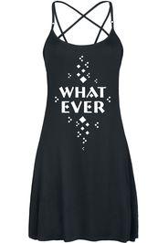 Whatever -  - Miniabito - Donna - nero