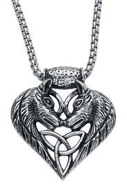 Wolfsherz -  - Collana - Unisex - colore argento