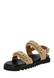 Billi Bi Sandalo con cinturino  oro / marrone