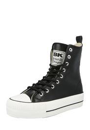 BRITISH KNIGHTS Sneaker alta 'KAYA'  nero / bianco