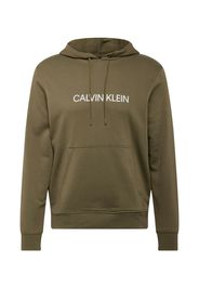 Calvin Klein Performance Felpa sportiva  cachi / bianco