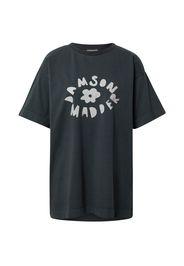 Damson Madder Maglietta  nero / grigio