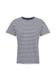 DEDICATED. Maglietta 'Stockholm'  bianco / blu