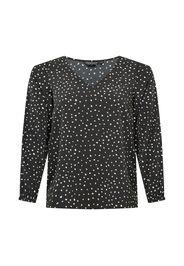 Dorothy Perkins Curve Camicia da donna  nero / bianco