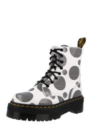 Dr. Martens Boots stringati 'Jadon'  bianco / nero