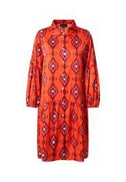 Grace Abito camicia  arancione / bianco / rosso vino / lilla