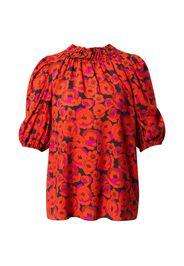 Hofmann Copenhagen Camicia da donna 'Ellie'  nero / arancione / lilla