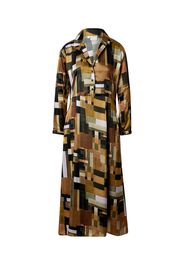 JAN 'N JUNE Abito camicia 'Ivyy'  marrone / colori misti