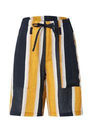 JNBY Pantaloni  navy / bianco / giallo oro