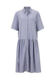 JNBY Abito camicia  indaco / bianco