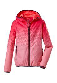 KILLTEC Giacca sportiva 'Lyse'  arancione neon / rosa scuro