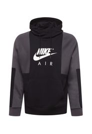 Nike Sportswear Felpa  nero / bianco / grigio scuro