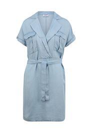 Noisy May Tall Abito camicia 'VERA'  blu fumo