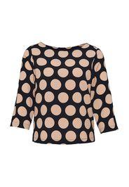 OPUS Camicia da donna 'Falesa'  nero / beige chiaro